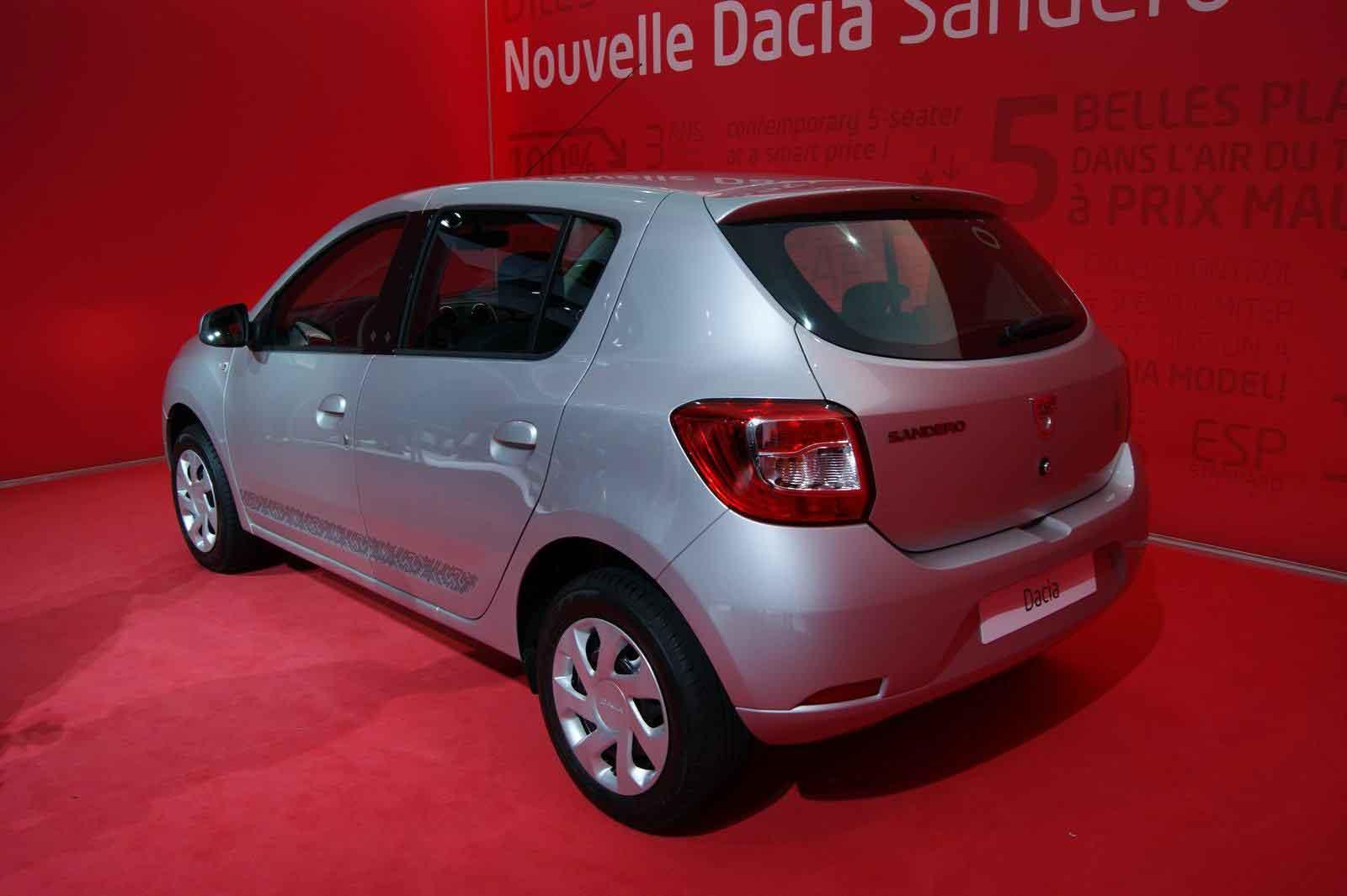 Фото нового Renault Сандеро