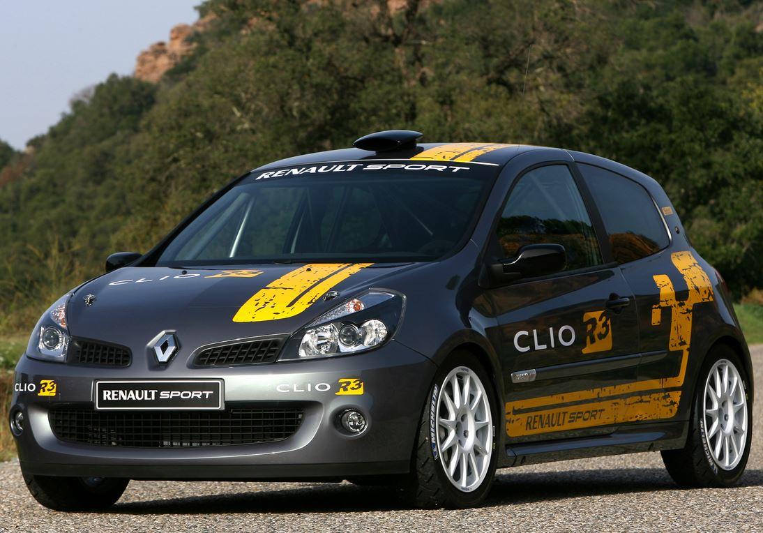 Новый Рено Клио RS фото вид спереди