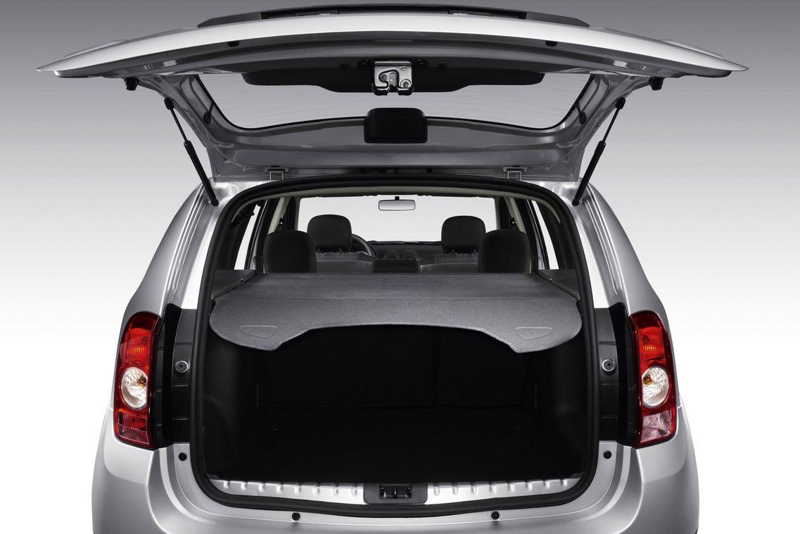 Огромный багажник Renault Duster