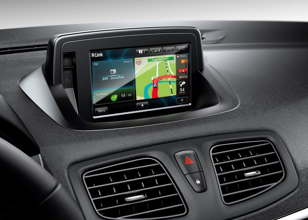Новая штатная навигация Renault Fluence