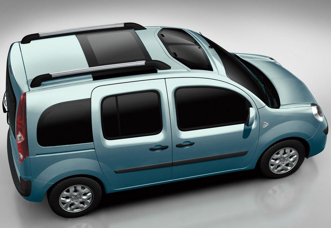 Renault Kangoo вид сверху