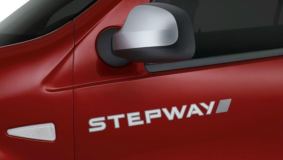 Надпись на крыле Renault Sandero Stepway